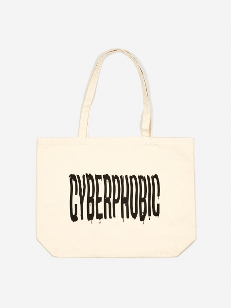 Cyberphobic Tote Bag - Natural