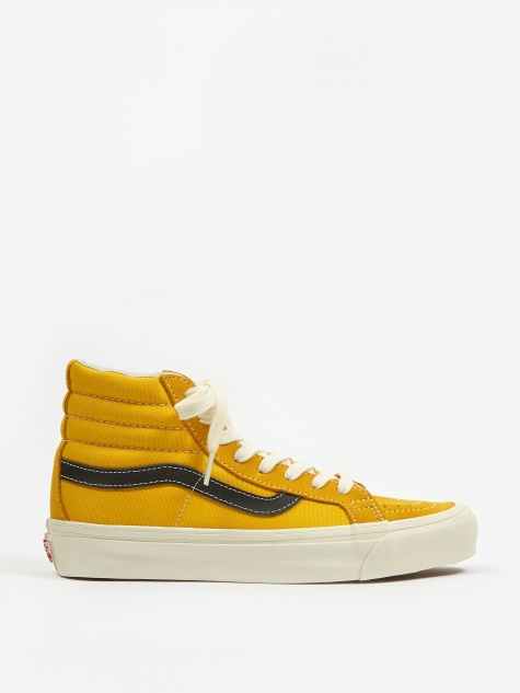Vault OG Sk8 Hi LX - (Suede/Canvas) Gold/Black