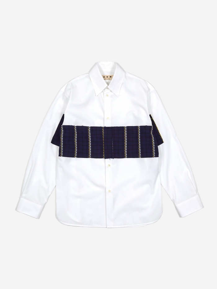 Marni Cotton Poplin Shirt - White (Image 1)