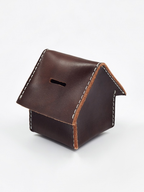 Home Coin Bank - Brown