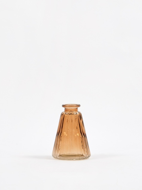 Agnar Glass Vase - Tan