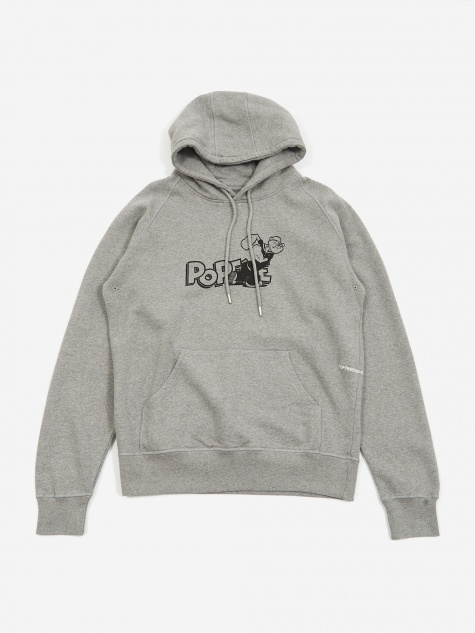 x Pop/Eye Hoodie - Heather Grey