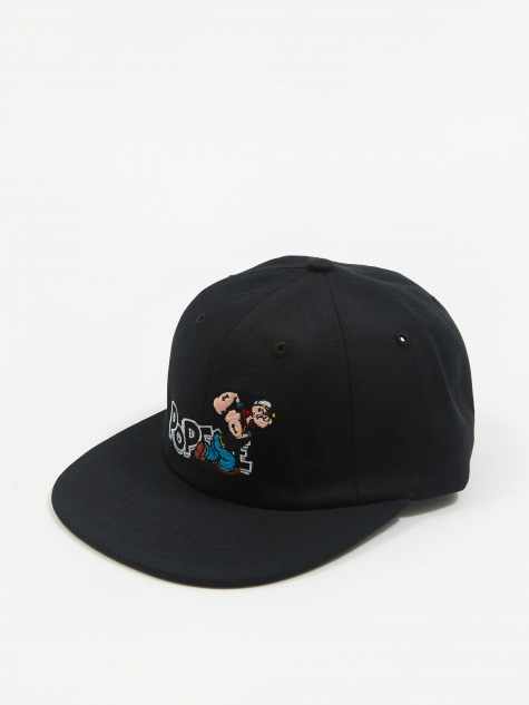 x Pop/Eye Six Panel Hat - Black