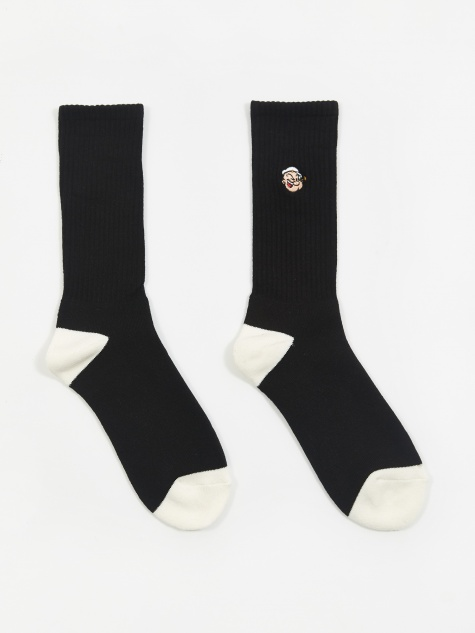 x Pop/Eye Sport Socks - Black