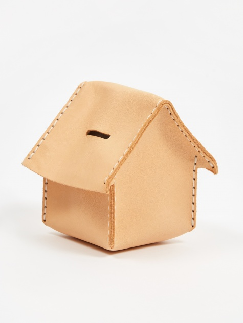 Home Coin Bank  - Natural