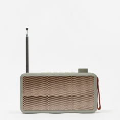 Kreafunk tRADIO DAB+ Radio - Cool Grey
