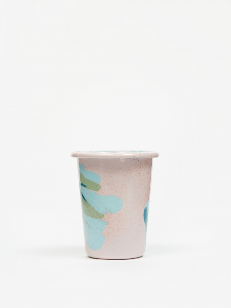 Marble Small Tumbler 10cm - Blush