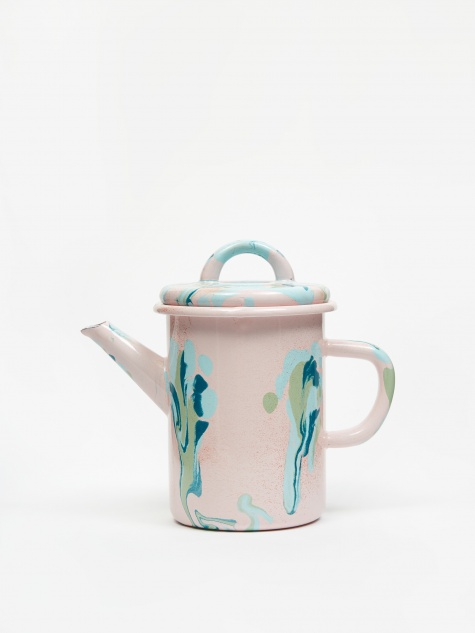 Marble Tea Pot 10 x 12 cm - Blush