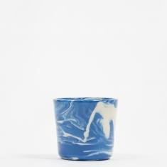 HAY Marbled Cup - Blue