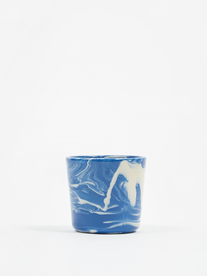 HAY Marbled Cup - Blue (Image 1)