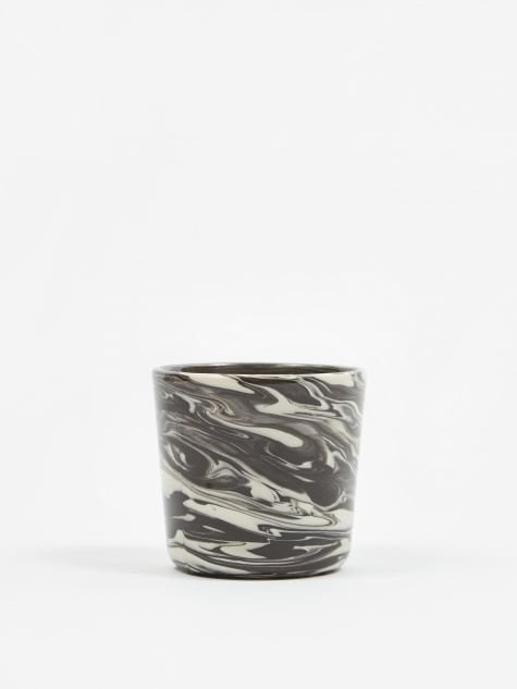 Marbled Cup - Black