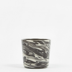 HAY Marbled Cup - Black