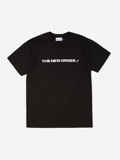 Basic Box Shortsleeve T-Shirt - Black
