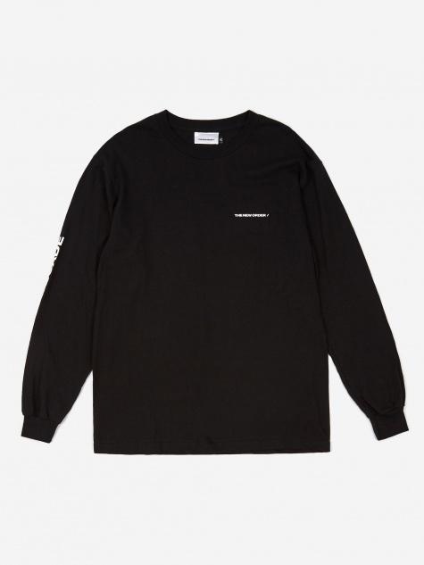 Basic Logo Longsleeve T-Shirt - Black