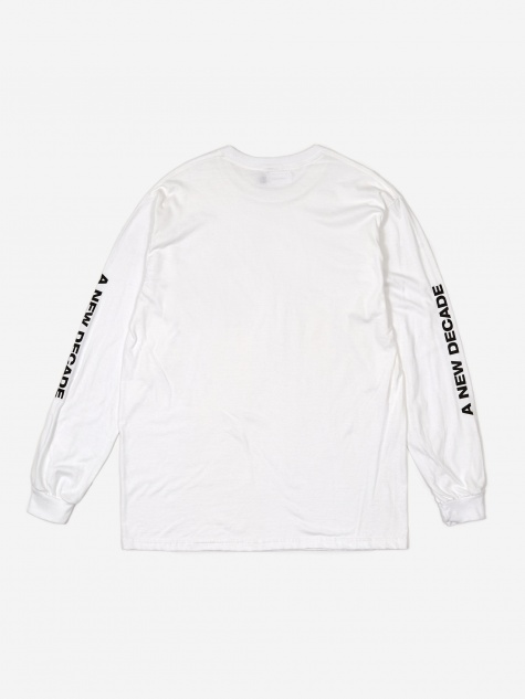 Basic Logo Longsleeve T-Shirt - White