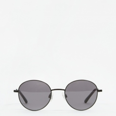 Sun Buddies Ozzy Sunglasses - Black/Transparent Grey