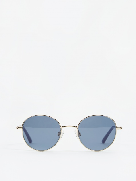 Ozzy Sunglasses - Gold/Moody Blues