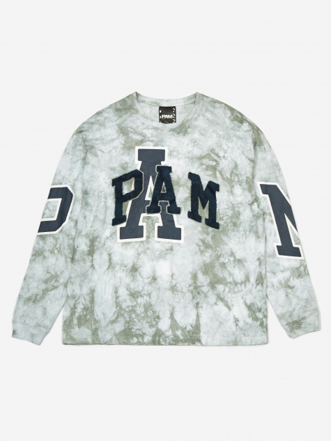 PAM Perks And Mini Elements Tie Dye Longsleeve T-Shirt - Cloud T