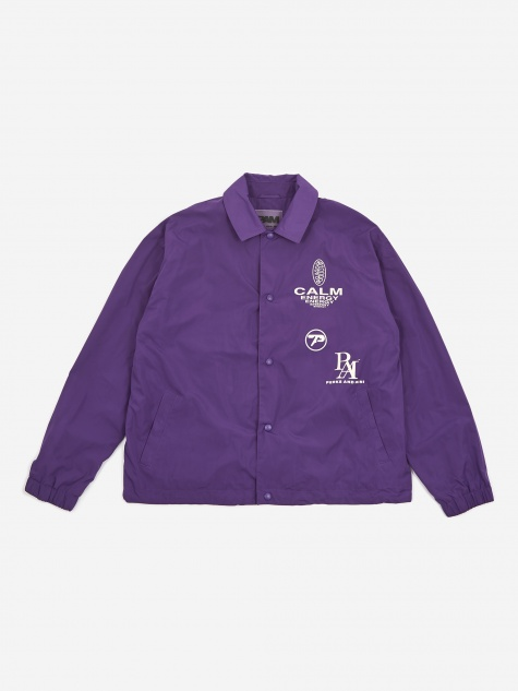 PAM Perks And Mini Waveform Calm Coach Jacket - Magic Purple