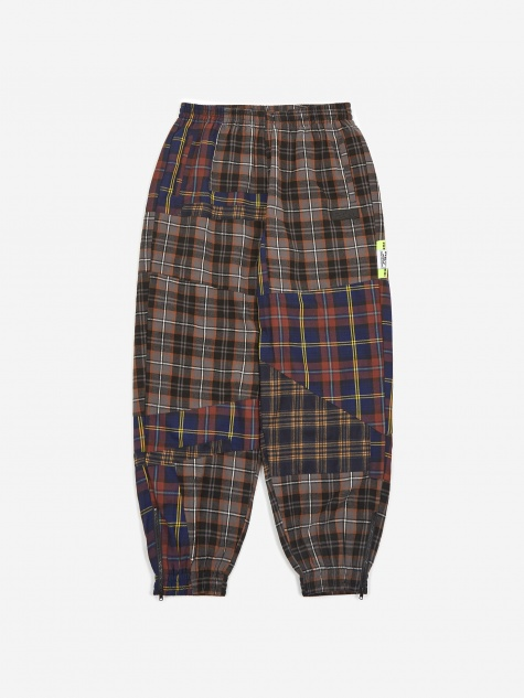 PAM Perks And Mini Over It Shadow Checked Pant - Dark Check Mult