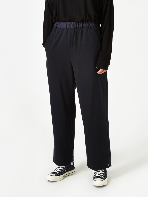 Stretch Wool Trouser - Navy