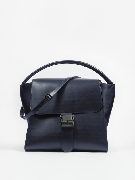 Belted Bag Large - Navy