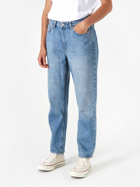 Eve Cropped Jean - Classic Mid Blue Vintage