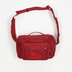 Eastpak x Raf Simons Padded Loop Waistbag - Burgundy