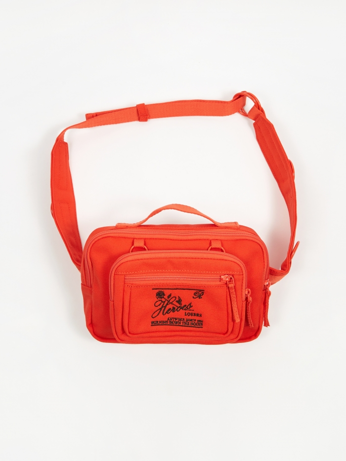 Eastpak x Raf Simons Padded Loop Waistbag - Orange (Image 1)