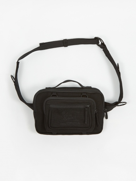 x Raf Simons Padded Loop Waistbag - Black