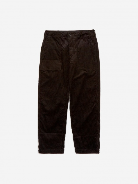 Fatigue Corduroy Pant - Black