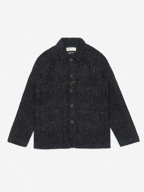 Bakers Jacket - Navy Plaid