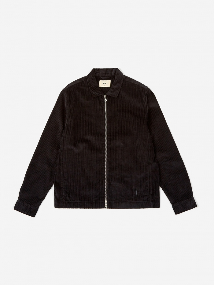 Folk Signal Jacket - Black (Image 1)