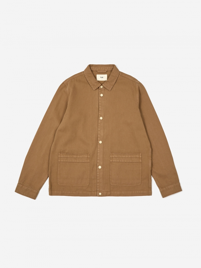 Folk Horizon Jacket - Tan (Image 1)