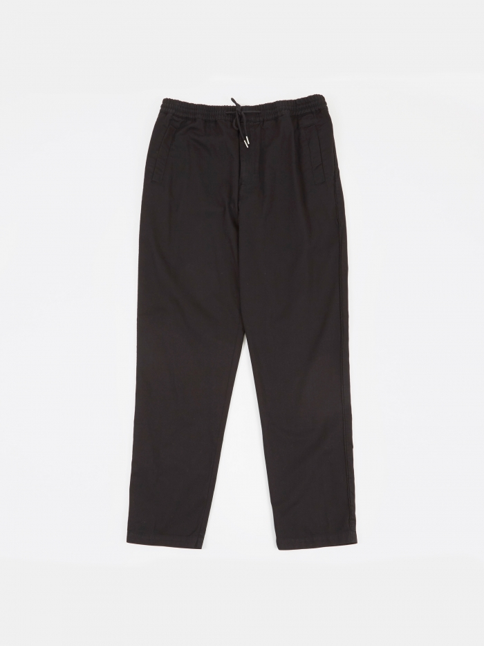 Folk Drawcord Trousers - Black (Image 1)