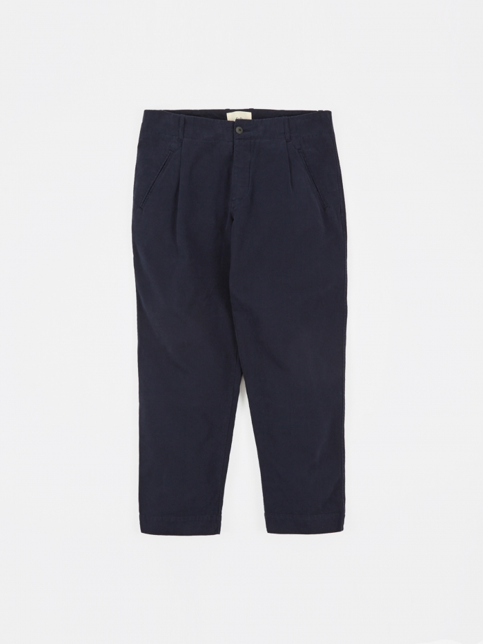 Folk Assembly Pant - Navy (Image 1)