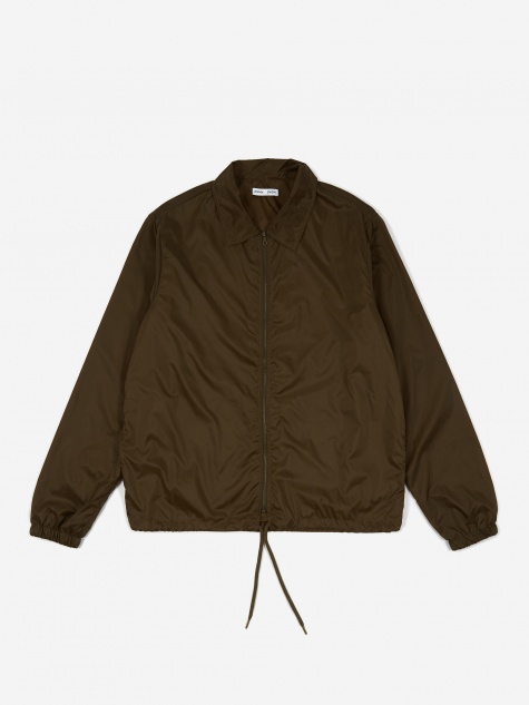 Shane Lightweight Coach Jacket - Moss Green