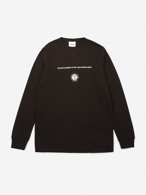Louis Longsleeve T-shirt - Black