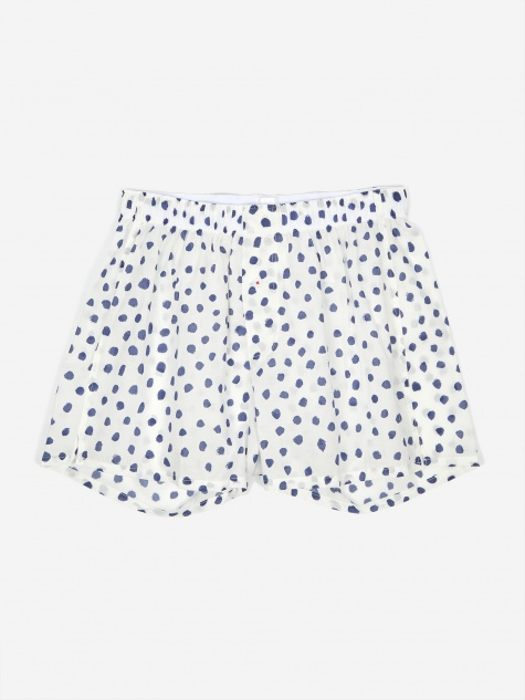 Druthers Marker Dots Boxer - White