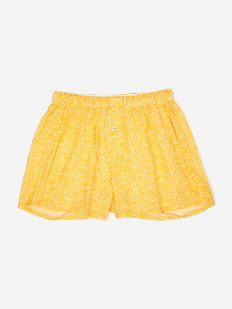 Druthers Waves Boxer - Mustard