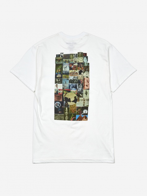 Collage Shortsleeve T-Shirt - White