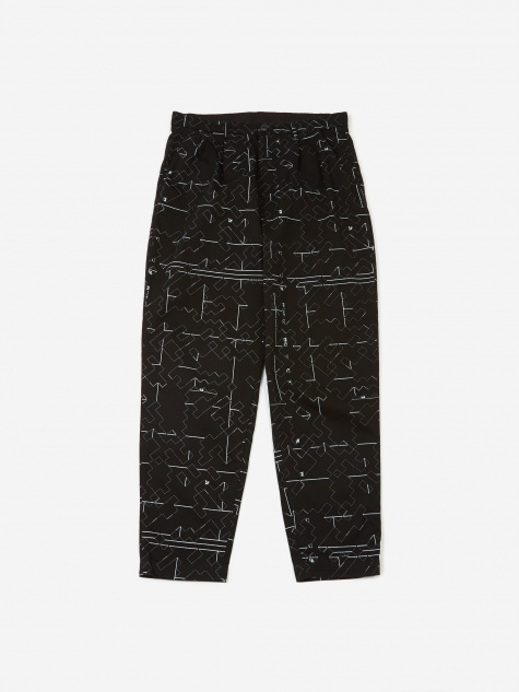 C.E Cav Empt Noise 7 Wide Chinos - Black