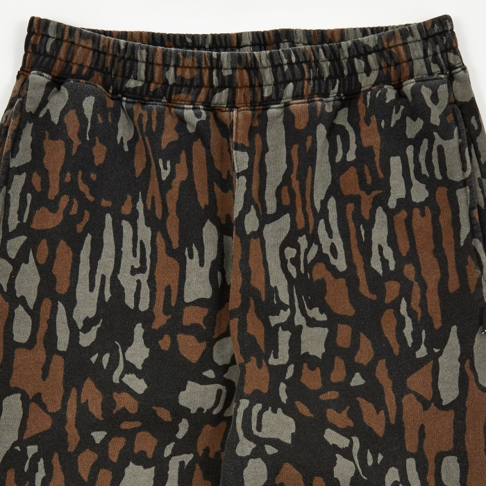 Stussy Tree Bark Sweatpant - Brown (Image 1)