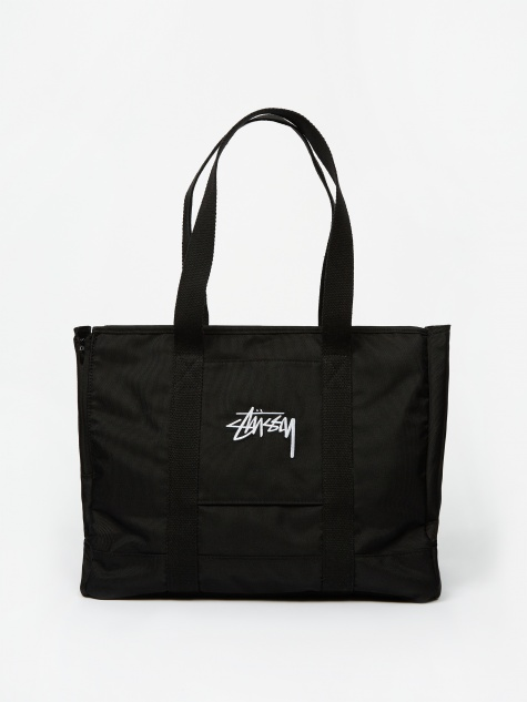 Stock Dog Tote Bag - Black