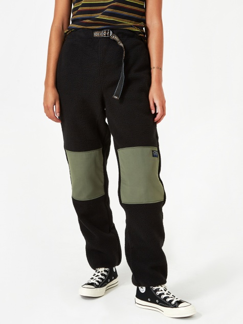 Summit Polar Fleece Pant - Black