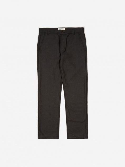 Aston Pant Flannel - Charcoal