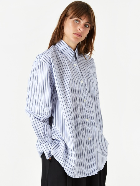 Lend Shirt  - Blue Stripe
