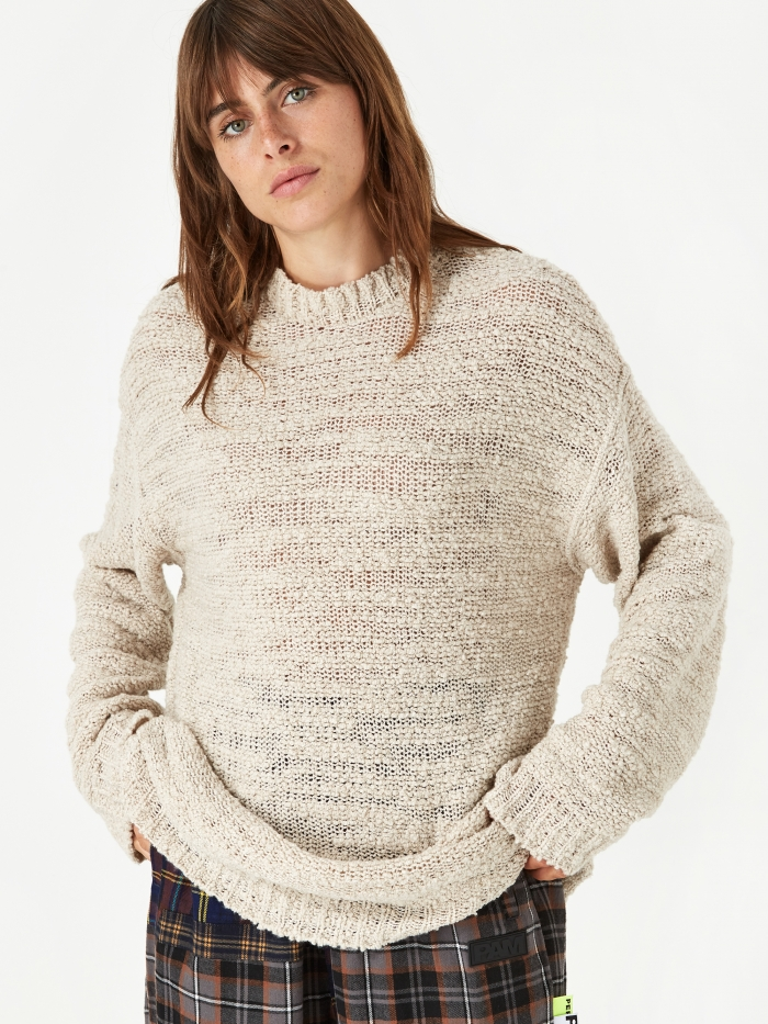 Our Legacy First Roundneck Jumper - Raw Wool Mix (Image 1)
