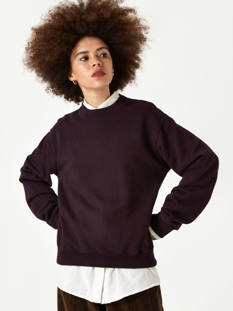 First Sweatshirt - Plum