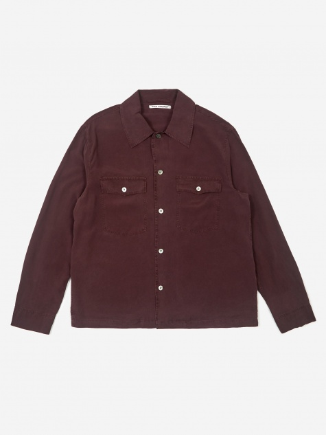 Evening Coach Shirt - Cherry Silk